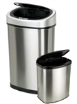 NineStar Touchless Motion Sensor Trash Cans
